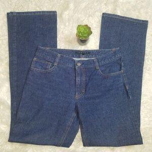 Theory womens blue denim jeans size 4